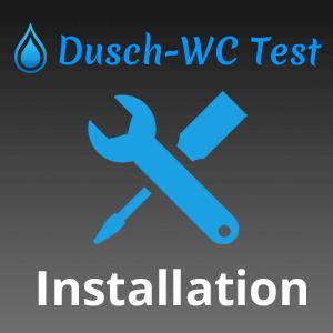 Installation & Wartung von Dusch-WCs